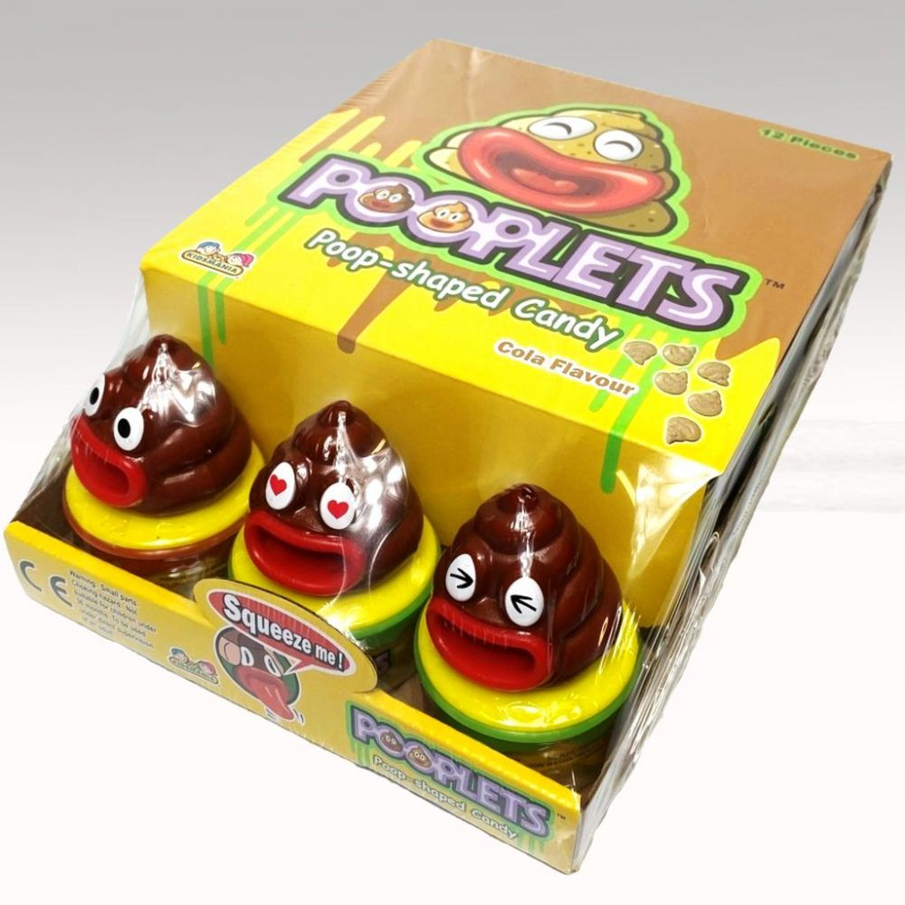 POOPLETS COLA FLAVOUR CANDY